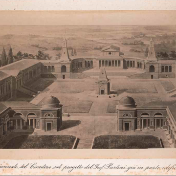 I cimiteri della città di Siena
