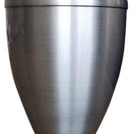 Urna in alluminio